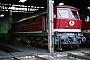 """LTS 0434 - DR """"232 218-8"""" 14.08.1992 - Halle (Saale), Bahnbetriebswerk GErnst Lauer"""