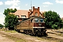 """LTS 0043 - DR """"230 043-2"""" 17.06.1992 - Wustermark, BetriebswerkRonny Sdunzik"""