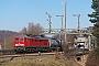 """LTS 0444 - DB Schenker """"233 232-8"""" 05.03.2013 - RoßweinBenjamin Mühle"""