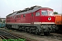 "LTS 0451 - DR ""132 239-5"" 26.09.1991 - Magdeburg, Betriebswerk HauptbahnhofNorbert Schmitz"