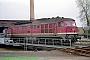 """LTS 0454 - DR """"232 241-0"""" 01.05.1992 - Rostock, Betriebswerk HauptbahnhofNorbert Schmitz"""
