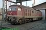 "LTS 0457 - DR ""132 245-2"" 18.09.1991 - Güsten, BetriebswerkNorbert Schmitz"