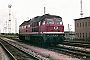 "LTS 0459 - DR ""132 247-8"" 16.07.1989 - Rostock-Seehafen, GüterbahnhofMichael Uhren"