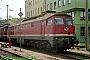 """LTS 0460 - DR """"232 246-9"""" 30.04.1992 - Schwerin, BetriebswerkNorbert Schmitz"""