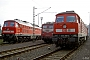 """LTS 0483 - Railion """"232 268-3"""" 09.11.2005 - Magdeburg-Rothensee, BetriebswerkTorsten Frahn"""