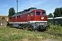 """LTS 0491 - DB AG """"234 278-0"""" 10.08.1995 - Berlin-Lichtenberg, BetriebswerkW. Voigt (Archiv Werner Brutzer)"""