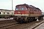 """LTS 0498 - DR """"232 284-0"""" 09.04.1992 - CottbusWerner Brutzer"""