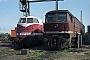 """LTS 0049 - DR """"130 047-4"""" 06.09.1991 - Wustermark, BahnbetriebswerkPhilip Wormald"""