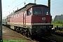 "LTS 0520 - DR ""132 308-8"" 31.07.1991 - Rostock, HauptbahnhofNorbert Schmitz"