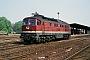 """LTS 0535 - DR """"132 321-1"""" 10.05.1991 - Güsten, BahnhofWerner Brutzer"""