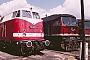 "LTS 0053 - DR ""130 051-6"" 09.07.1987 - Wustermark, BahnbetriebswerkMichael Uhren"