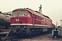 """LTS 0547 - DR """"132 333-6"""" 26.01.1991 - Eisenach, BetriebswerkMichael Uhren"""