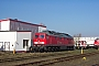 """LTS 0547 - Railion """"232 333-5"""" 03.04.2005 - Rostock-Seehafen, BetriebswerkPeter Wegner"""
