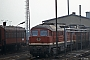 """LTS 0548 - DR """"132 332-8"""" 07.03.1991 - Halberstadt, BetriebswerkIngmar Weidig"""