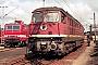 "LTS 0549 - DR ""132 334-4"" 03.09.1990 - Wittenberge, BetriebswerkMichael Uhren"