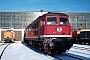 """LTS 0549 - DB AG """"232 334-3"""" 13.01.1995 - Neustrelitz, BetriebswerkMichael Uhren"""