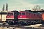 "LTS 0551 - DR ""132 339-3"" 18.02.1991 - Neubrandenburg, BetriebswerkMichael Uhren"