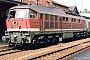 """LTS 0580 - DR """"232 345-9"""" __.08.1993 - Arnstadt, HauptbahnhofRalf Brauner"""