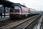 """LTS 0580 - DR """"232 345-9"""" 28.11.1992 - Erfurt, HauptbahnhofErnst Lauer"""