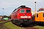 """LTS 0584 - Railion """"232 349-1"""" 05.10.2008 - Cottbus, AusbesserungswerkSven Hohlfeld"""