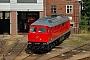 """LTS 0584 - Railion """"232 349-1"""" 13.09.2005 - Cottbus, Ausbesserungswerk V300-Spezialist"""
