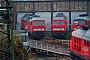 """LTS 0584 - DB Schenker """"232 349-1"""" 23.11.2013 - Halle (Saale), Betriebswerk GBenjamin Mühle"""