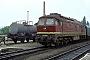 """LTS 0585 - DR """"132 350-0"""" 02.06.1979 - Saalfeld (Saale)Werner Brutzer"""