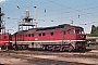 "LTS 0606 - DR ""132 371-6"" 31.08.1987 - Schwerin, BetriebswerkMichael Uhren"