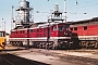 "LTS 0607 - DR ""132 372-4"" 31.08.1987 - Schwerin, BetriebswerkMichael Uhren"