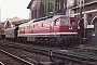 "LTS 0608 - DR ""132 373-2"" 31.08.1987 - Schwerin, HauptbahnhofMichael Uhren"