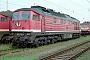 """LTS 0608 - DB Cargo """"232 373-1"""" 11.09.1999 - Rostock-Seehafen, BetriebswerkNorbert Schmitz"""