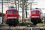 """LTS 0614 - Railion """"232 379-8"""" 24.03.2008 - Cottbus, AusbesserungswerkSven Hohlfeld"""