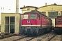 "LTS 0622 - DR ""132 387-2"" 03.09.1990 - Wittenberge, BetriebswerkMichael Uhren"