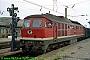 """LTS 0629 - DR """"132 395-5"""" 02.08.1991 - Dessau, HauptbahnhofNorbert Schmitz"""