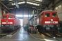 """LTS 0662 - DB Schenker """"233 450-6"""" 20.09.2009 - Magdeburg-Rothensee, BahnbetriebswerkTobias Sambill"""
