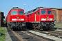 """LTS 0666 - Railion """"232 437-4"""" 23.04.2005 - Reichenbach (Vogtland), BetriebswerkTorsten Barth"""