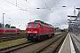 """LTS 0666 - Railion """"232 437-4"""" 19.06.2004 - Rostock, HauptbahnhofPeter Wegner"""
