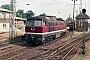 """LTS 0686 - DR """"132 451-6"""" 21.08.1988 - Neustrelitz, HauptbahnhofMichael Uhren"""