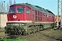 """LTS 0719 - DB AG """"232 484-6"""" 29.01.1996 - Stendal, BetriebswerkNorbert Schmitz"""