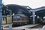 "LTS 0727 - DR ""132 492-0"" 21.03.1991 - Halle (Saale), HauptbahnhofIngmar Weidig"