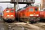 """LTS 0735 - Railion """"232 500-9"""" 02.02.2006 - Dresden-Friedrichstadt, BahnbetriebswerkTorsten Frahn"""