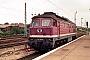 """LTS 0735 - DR """"132 500-0"""" 16.06.1990 - Berlin-LichtenbergMichael Uhren"""