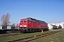 """LTS 0737 - Railion """"232 502-5"""" 03.04.2005 - Rostock-Seehafen, BetriebswerkPeter Wegner"""