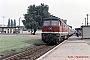 "LTS 0737 - DR ""132 502-6"" 09.09.1987 - Brandenburg, HauptbahnhofNowottnick (Archiv D. Bergau)"