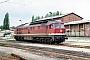 "LTS 0744 - DR ""132 509-1"" 03.06.1991 - Neustrelitz, Bahnbetriebswerk HauptbahnhofMichael Uhren"