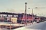 """LTS 0746 - DR """"232 511-6"""" 18.02.1991 - Neustrelitz, BetriebswerkMichael Uhren"""