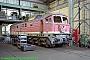 """LTS 0747 - DR """"232 512-4"""" 30.05.1992 - Cottbus, AusbesserungswerkNorbert Schmitz"""
