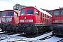 "LTS 0748 - DB Cargo ""232 513-2"" 24.01.2004 - Halle (Saale), Betriebswerk GPeter Wegner"