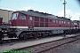 """LTS 0754 - DB AG """"232 519-9"""" 13.07.1997 - Magdeburg, Betriebswerk HauptbahnhofNorbert Schmitz"""