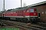 """LTS 0762 - DB AG """"232 527-2"""" 23.03.1996 - Magdeburg, Betriebswerk HauptbahnhofNorbert Schmitz"""